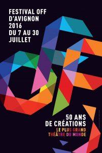 Festival OFF d'Avignon 2016 affiche