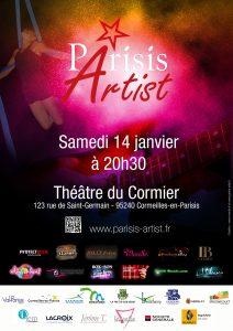 Soirée Parisis Artist du 14 janvier 2017