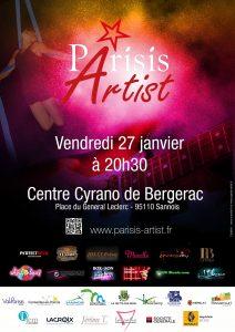 Soirée Parisis Artist du 27 janvier 2017