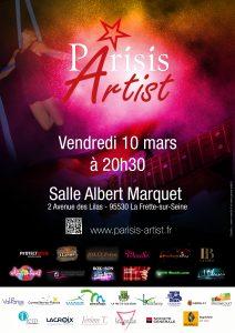 Soirée Parisis Artist du 10 mars 2017
