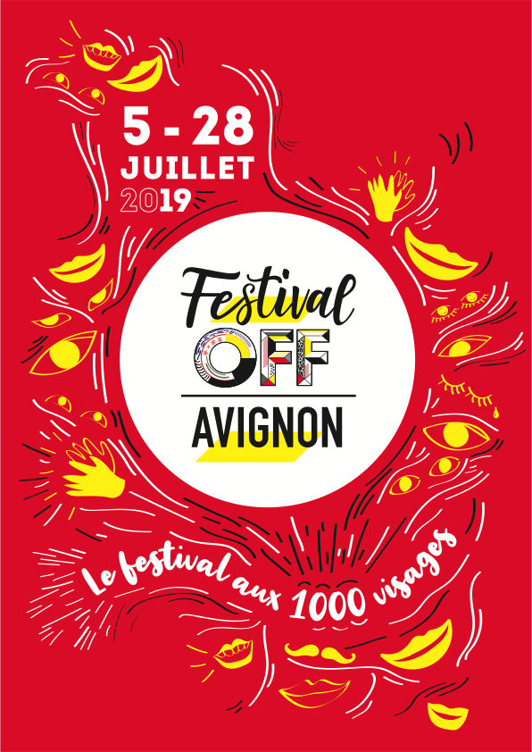 Affiche du Festival OFF d'Avignon 2019
